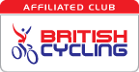 British Cycling affiliated club logo